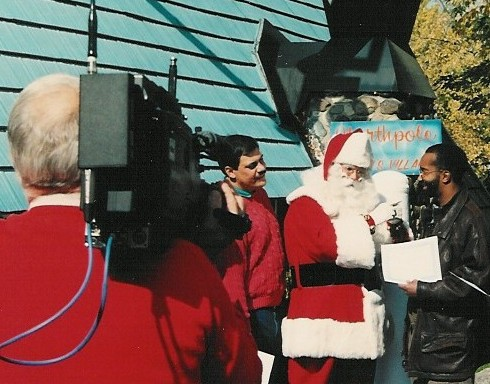 Santa Phil at Santa's Village
